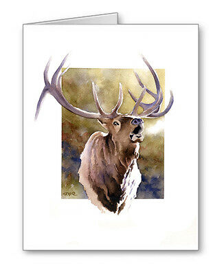 ELK CALL Set of 10 Note Cards With Envelopes