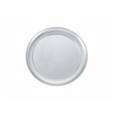 Winco APZT-12, 12-Inch Diameter Wide-Rimmed Aluminum Pizza Pan