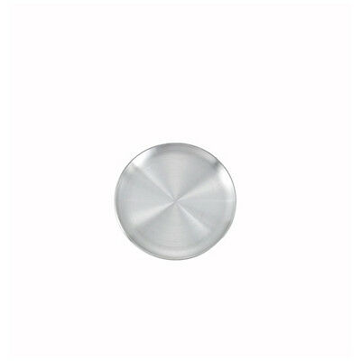 Winco APZC-8, 8-Inch Coupe-Style Round Aluminum Pizza Pan