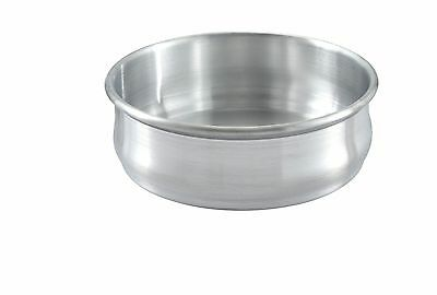 Winco ALDP-48, 48-Ounce Stackable Aluminum Dough Proofing Pan
