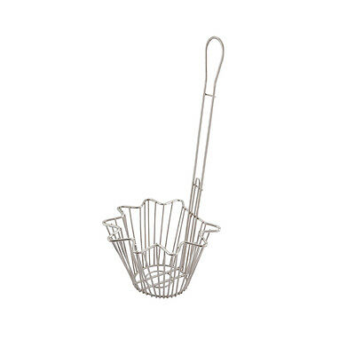 Winco TB-20, Round Taco Salad Bowl Basket with 18-Inch Handle