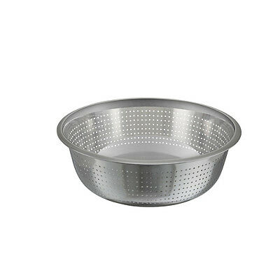 Winco CCOD-15S, 15-Inch Diameter Stainless Steel Chinese Colander with 2.5 mm Ho