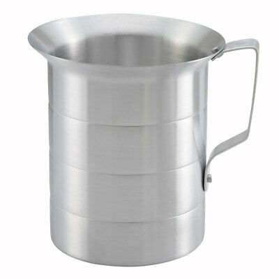 Winco AM-05, 0.5-Quart Aluminum Measuring Cup with Handle