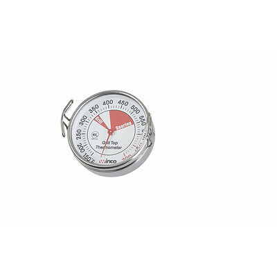 Winco TMT-GS2, 2.0125-Inches Grill Surface Thermometer