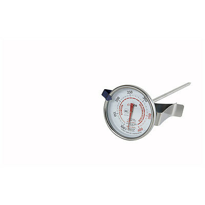 Winco TMT-CDF2, 2-Inch Dial Candy Deep Fry Thermometer, NSF