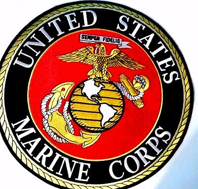 """United States Marine Corps Patch 10"""""""