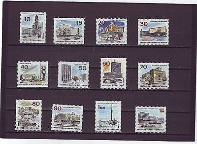 Germany/berlin - Sgb263-B276 Mnh 1965 New Berlin