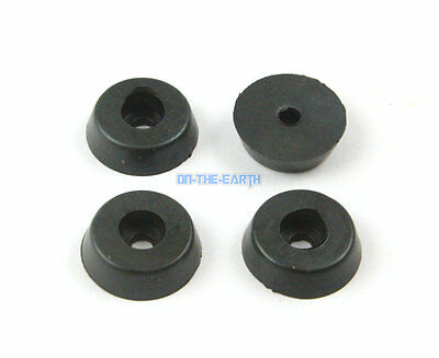 100 Pieces 13x10x7mm Rubber Feet Pad Furniture Chair Leg Protector Glide Pad