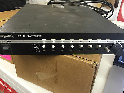 Ikegami 8 Channels Video Auto Switcher VS-8L For Security Systems-Made in Japan