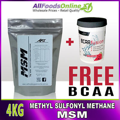 MSM - Methyl Sulfonyl Methane - Bone, Joint and Ligament Support - Pure - 4kg