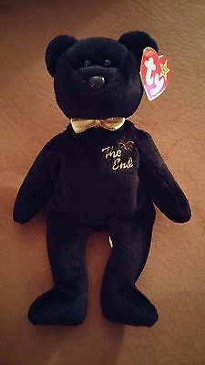 """""""The End"""" ty Beanie Baby 1999 with RARE Tag!!"""