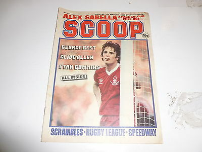 SCOOP Comic - No 112 - Date 08/03/1980 - UK Paper Comic - Inc Pull-Out