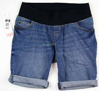 NEW Maternity Shorts Denim Jean Women's Liz Lange NWT Size Sz 302170
