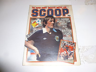 SCOOP Comic - No 142 - Date 11/10/1980 - UK Paper Comic - Inc Pull-Out