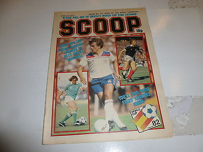 SCOOP Comic - No 171 - Date 25/04/1981 - UK Paper Comic - Inc Pull-Out