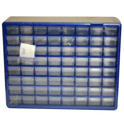 Ateco 8764, 64-Compartment Decorating Tips Storage Box with Stickers