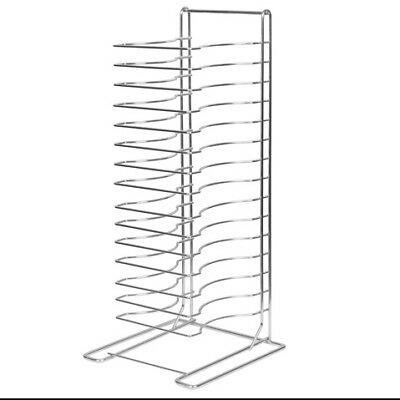 Winco APZT-1015, 15-Slot Welded Pizza Tray Rack