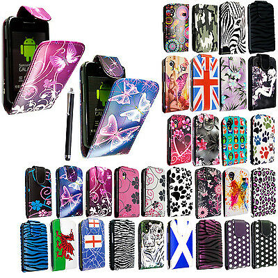 STYLISH SAMSUNG GALAXY ACE S5830 s5839i PU LEATHER FLIP CASE COVER