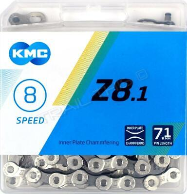 KMC Z72 6/7/8 (18/21/24)-Speed Bicycle Chain 116L Road / MTB fits Shimano SRAM