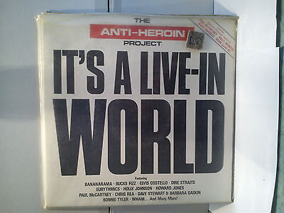 The Anti-Heroin Project / It`s a live in world - Sampler      .............Vinyl