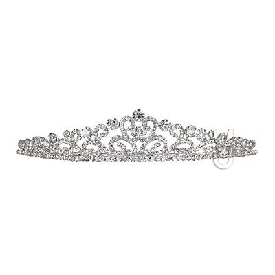 Bridal Floral Rhinestone Crystal Wedding Prom Crown Tiara 71073