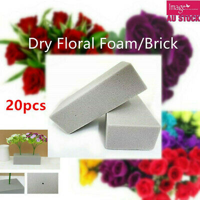 20x Dry Floral Foam Brick Block Type Grey Flower Decoration 22.5x10.5x7cm YW