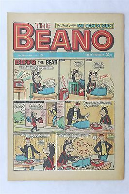 The Beano 1602 March 31st 1973 Vintage UK Comic Dennis The Menace Biffo Bear