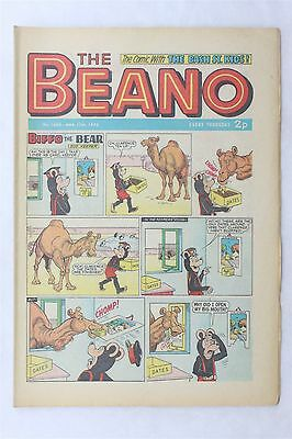 The Beano 1600 March 17th 1973 Vintage UK Comic Dennis The Menace Biffo Bear