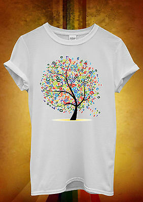 Lucky Number Tree Lottery Cool Funny Men Women Unisex T Shirt Tank Top Vest 607