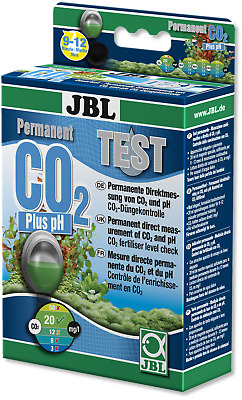 JBL Permanent Test Kit CO2 pH (aquarium fish tank drop checker fresh water set)