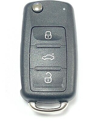 Replacement 3 button shell case for VW Volkswagen Scirocco remote flip key fob