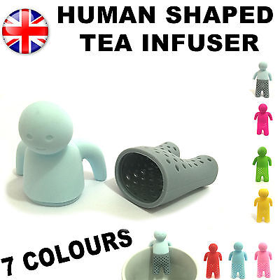 Mr Tea Infuser Strainer Leaves Fred Silicone Leaf Strainer Herbal Spice Infuser