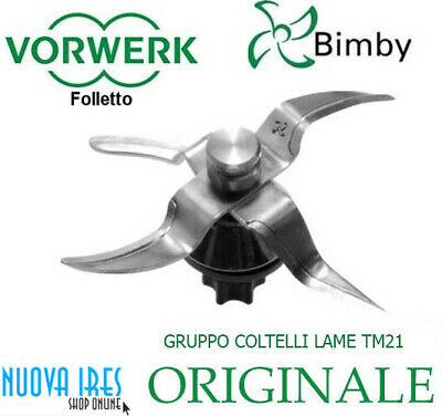 Gruppo Coltelli Lame Tm21 Bimby Vorwerk Contempora Thermomix Folletto Originale