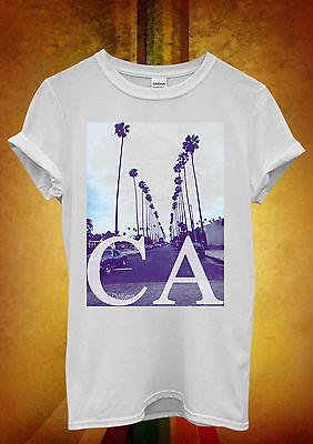 California CA Palm Springs Trees Cool Kids Boys Girls Unisex Gift T-Shirt 563