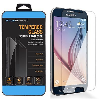 10x Wholesale Lot of 10 Tempered Glass Screen Protector for Samsung Galaxy S6