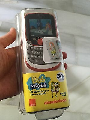 Pack Precintado Alcatel OT 355 Bob Esponja Orange Pre Pago, No Smarthphone - 39€