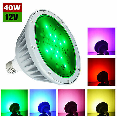 120v 35w led color change replace swimming pool light bulb for