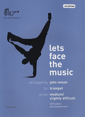 Lets Face the Music for Trumpet & Piano Sheet Music Book/CD