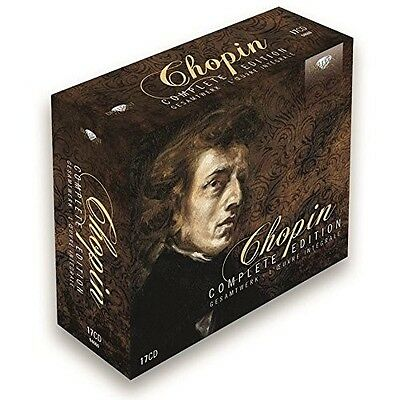 Complete Edition 17 Cd New+ Chopin,Frederic Francois