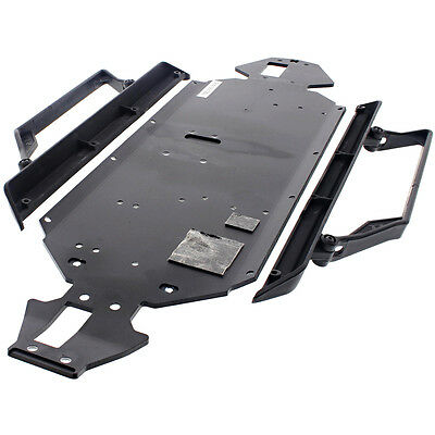 Losi 1/10 TEN-SCTE 4WD * 3mm ALUMINUM CHASSIS & SIDE GUARDS * Main Plate Mud