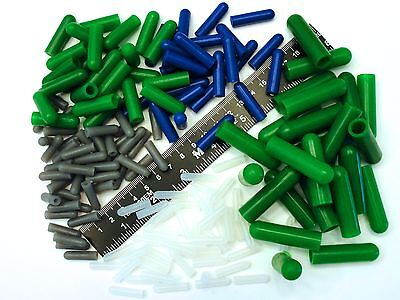 175 Piece High Temp Silicone Rubber Cap Kit - Powder Coating, Cerakote, Vacuum