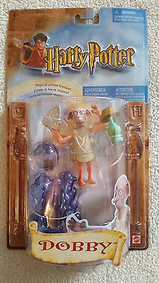 Harry Potter Dobby Figure Mattel 2002 New