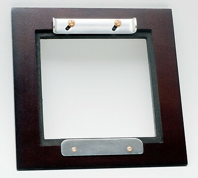 """1 WOODEN  ADAPTER 5.2""""Sq. for 95mm x95mm boards type """"B"""" to AGFA/ANSCO  5""""x 7"""""""