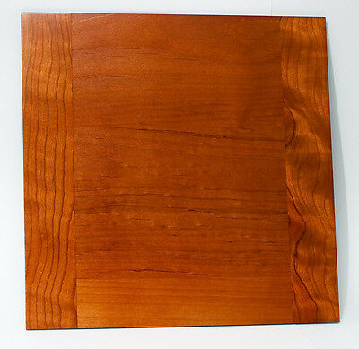 "1 Wooden Lens Board 10""x 10"" for 40 x 50cm Travel  Camera, made of Cherry wood"