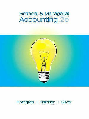 Financial managerial accounting chapters 1 14 2nd edition financial managerial accounting chapters 1 14 2nd edition chapters 1 fandeluxe Images