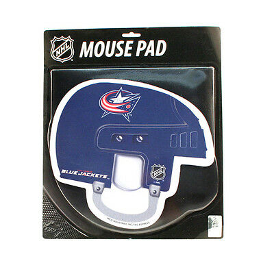 Colombus Blue Jackets Helmet Mouse Pad