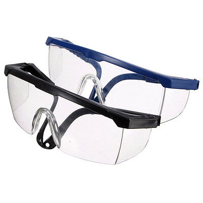 New Clear Lens Goggle Glasses Protective Eye Impact Curing For Safety Lab/Dental