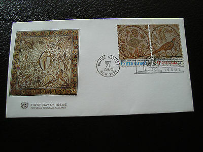 NATIONS-UNIES (new-york) - enveloppe 1er jour 21/11/1969 (cy64) united nations