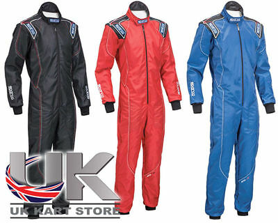 Sparco KS-3 Racing Kart Suit All Sizes & Colours UK KART STORE