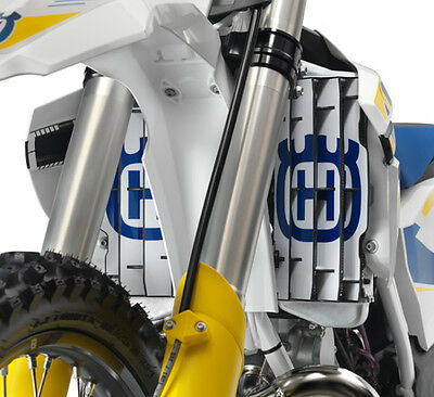 Husqvarna Power Parts Style Radiator Sticker Protector - Husky Style Rad Gaurd